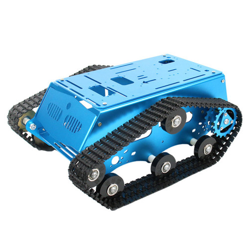 Programming Car Metal Chassis for Raspberry Pi / Arduino / Mcu51 / Stm32