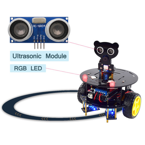 3WD Bluetooth Smart Robot Car for Arduino UNO R3