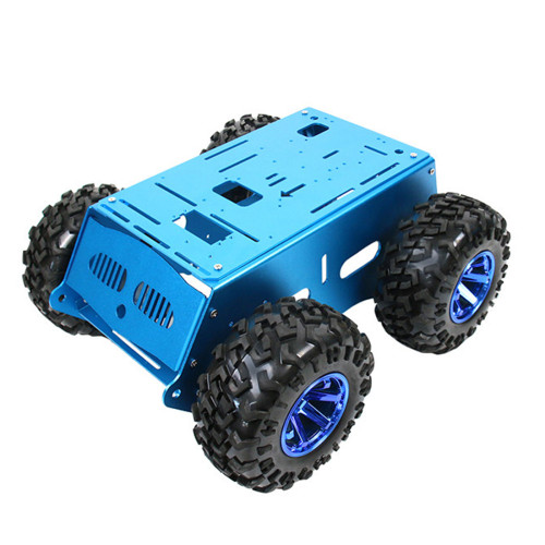 Programming Car Metal Chassis for Raspberry Pi/Arduino/Mcu51/Stm32