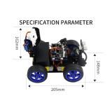 Robotics -Scratch3.0 Luminescent Ultrasonic Module Set -for Arduino