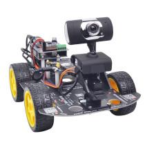 DIY Wifi Programmable Robot Car for Raspberry Pi 4 (2G) - US Plug