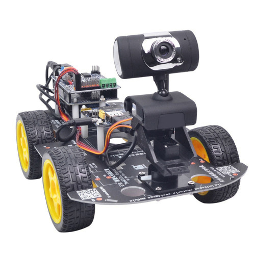 DIY Wifi Programmable Robot Car for Raspberry Pi 4 (2G) - US Plug
