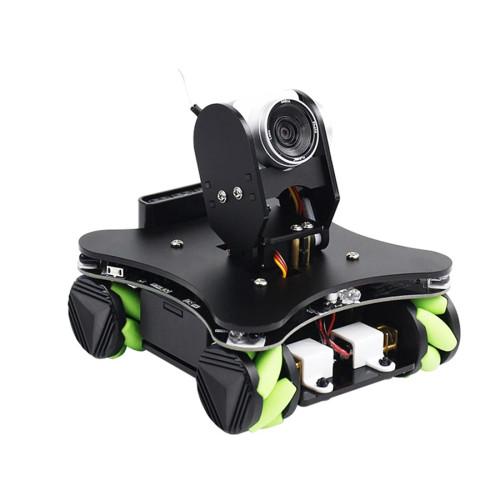 WiFi AI Camera FPV IR Infrared Sensor Robot Car with Mecanum Wheel for Arduino