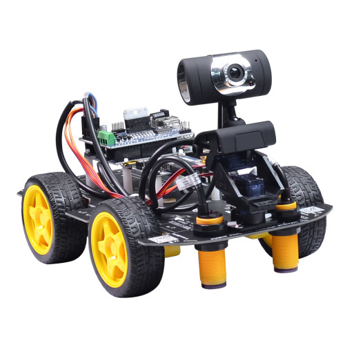 Wifi Programmable Robot for Raspberry Pi 4(2G)US Plug
