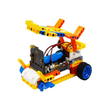 Robot Building Block Car Kit for Micro:bit(Not Including Micro:bit Board)