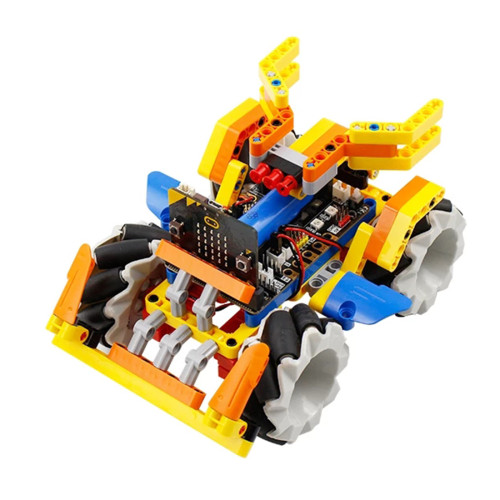 Robotics Building Block Mecanum Wheel Robot Car for Micro: bit