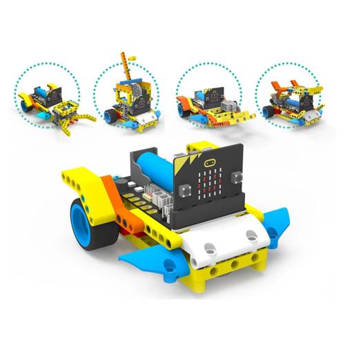 Robot Building Block Car Kit for Micro:bit(Not Including Micro:bit Board)