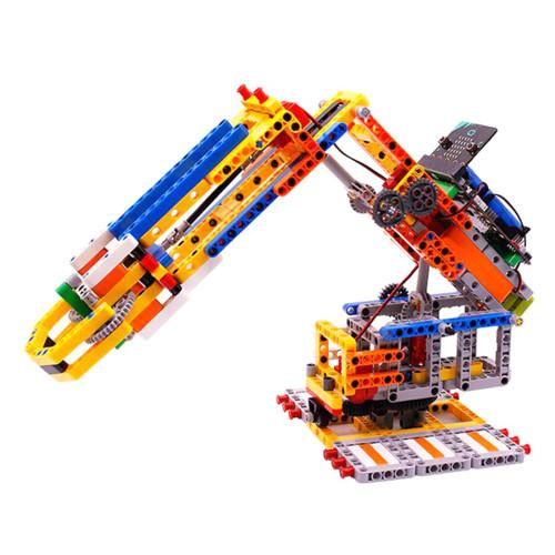 Micro:bit Programmable Robotic Arm Building Block