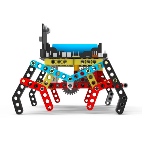 Programming Building Block Spider Robot for Micro:bit