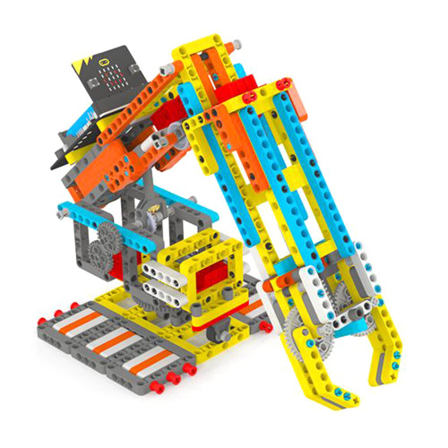 Micro:bit Programmable Robotic Arm Building Block