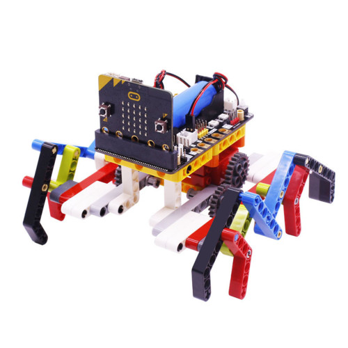 Programming Building Block Spider Robot for Micro:bit