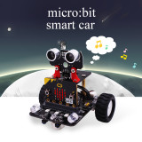 Graphical Programmable Robot Car with Bluetooth IR and Tracking Module for Micro:bit BBC