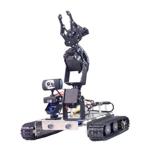 Wifi + Bluetooth Programmable Robot Arm Car for Raspberry Pi 3B+