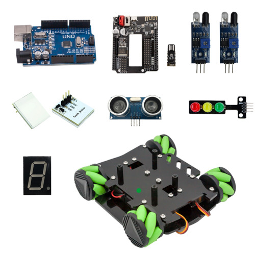 Obstacle Avoidance Programmable Robot Car for Arduino UNO