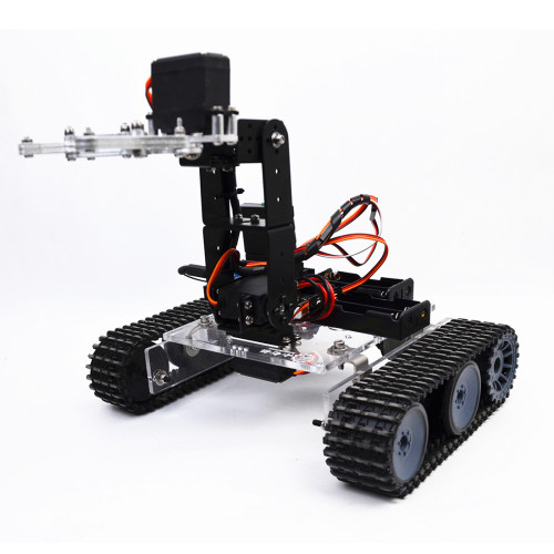 Programmable Tank 4DOF Metal Mechanical Arm Robot