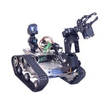 TH WiFi  FPV Tank Robot Car Kit with Arm for Arduino MEGA