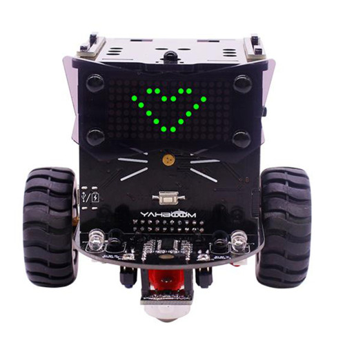 Omibox Scratch Programmable Robot Car Kit