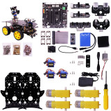 Raspberry Pi HD Camera Programmable Robot Car with 4WD