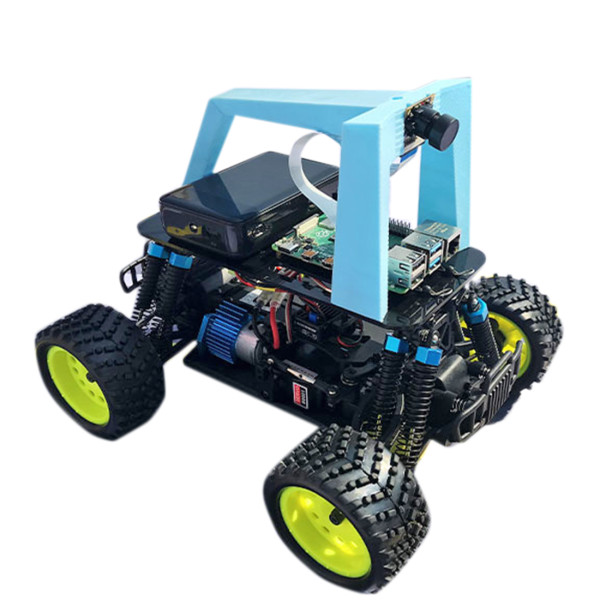 Programmable Autopilot Donkey Robot Car with Racing Track