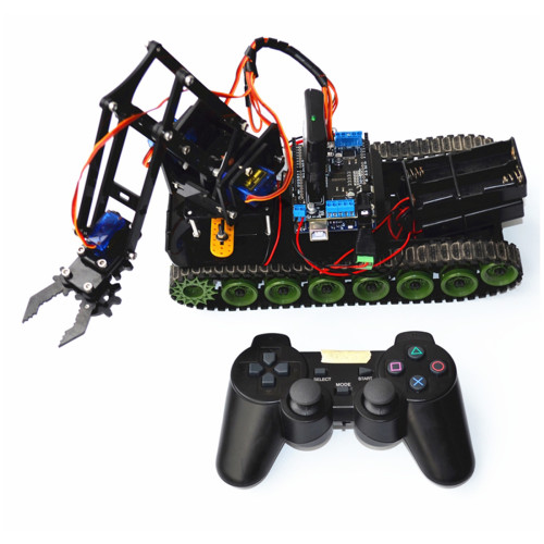Programmable Tank Mechanical Robot Arm Kit for Arduino