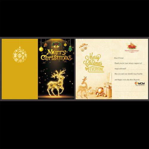 Magiccubemall Merry Christmas Card
