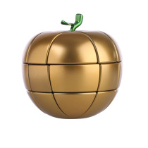 YJ Fruit Apple Spray Paint Magic Cube - Golden