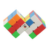 Cube Twist Double 3x3 Conjoined Magic Cube - Stickerless