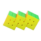 Cube Twist Triple 6x6 Conjoined Magic Cube - Stickerless