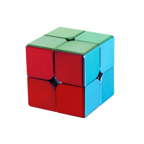 Meilong MFJS Plated 2x2 Magic Cube
