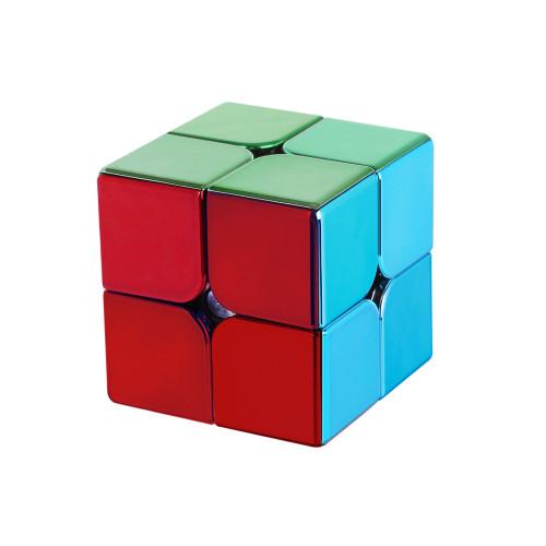 Meilong MFJS Plated 2x2 Magic Cube