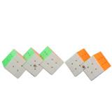 Cube Twist Triple 3x3 Conjoined Magic Cube - Stickerless