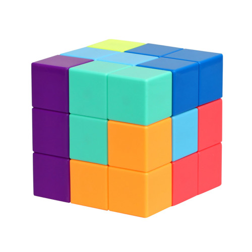 YJ Magnetic Building Block Cube