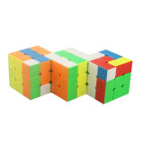 Cube Twist Triple 3x3 Conjoined Magic Cube - Stickerless