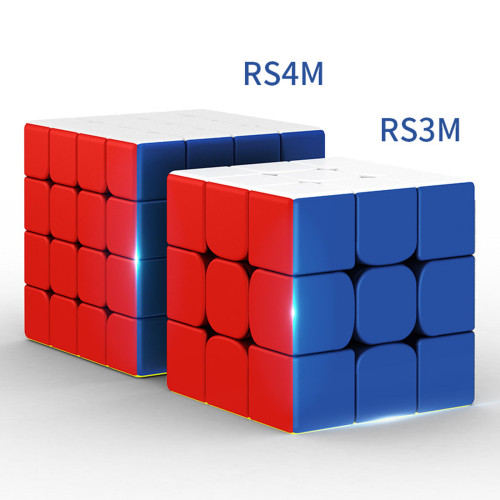 MFJS RS4M Custom 4x4 M Magic Cube - Stickerless