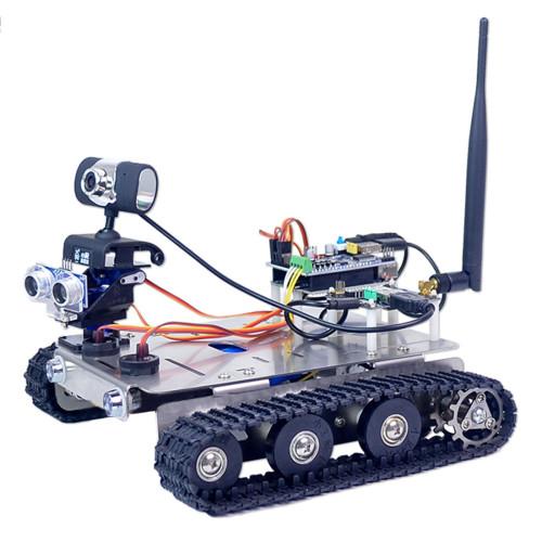 GFS WiFi Bluetooth Smart Robot Tank Car for Raspberry Pi4(2G)