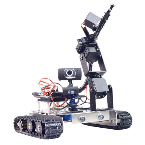 GFS WiFi Bluetooth Smart Robotic Arm Tank Car
