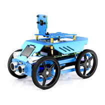 Four-wheel Robot Car Kit for Raspberry Pi4/3 Model B+/B