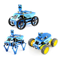 3-in-1 Aluminum Alloy Robot Set for Raspberry Pi4/3 Model B+/B