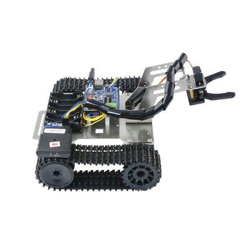 WiFi Bluetooth Mini Robot Tank 2 DOF Robotic Arm Car