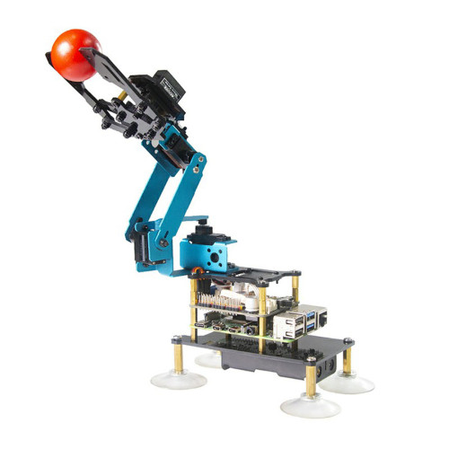 Four-legged Robotic Arm Robot for Raspberry Pi4/3 Model B+/B