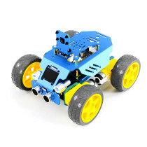 Four Wheel Sports Car Robot for Raspberry Pi4/3 Model B+/B