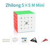 YongJun Zhilong 5x5 M Mini Magic Cube