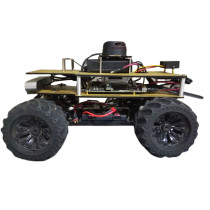 1/10 Programmable ROS Robot Ackerman Suspension Autopilot Ride Kit for Jetson TX2