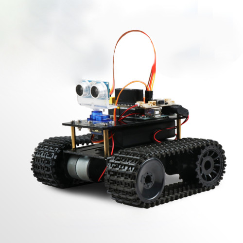DIY Obstacle Avoidance Programmable Robot for Arduino UNO