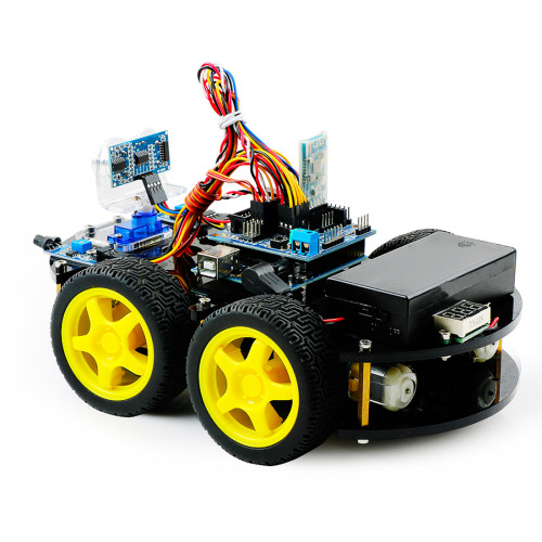 DIY Obstacle Avoidance Programmable Robot Car for BLE UNO