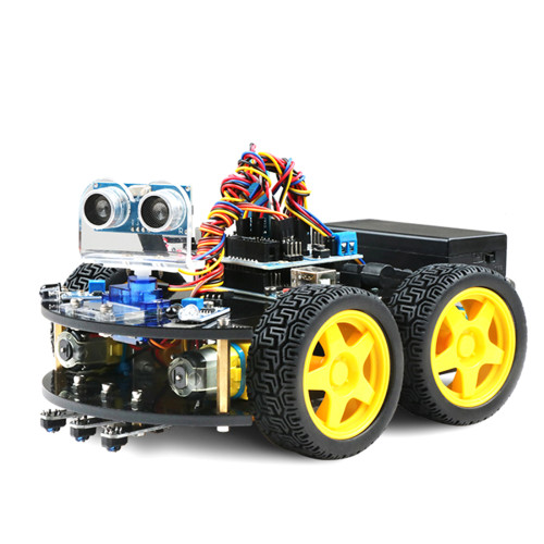 DIY Obstacle Avoidance Programmable Robot Car for Arduino UNO