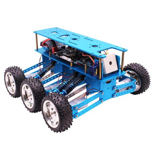 EU 6WD Off-Road Robot Car with Camera for Arduino UNO DIY