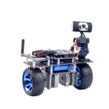 WiFi Video Robot Car Support iOS/Android APP PC RC for STM32
