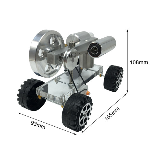 Car Type Stirling Engine Model