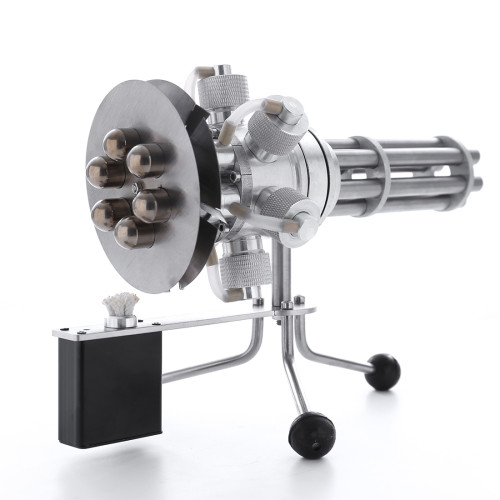 Six Cylinders Metal Rotating Stirling Engine